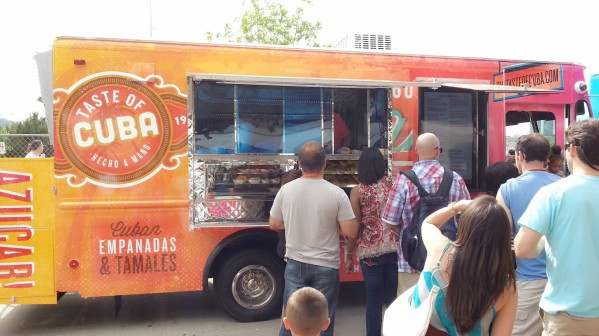 taste of cuba, called one of the best cuban food trucks in the DFW, but i didn't get to try them.