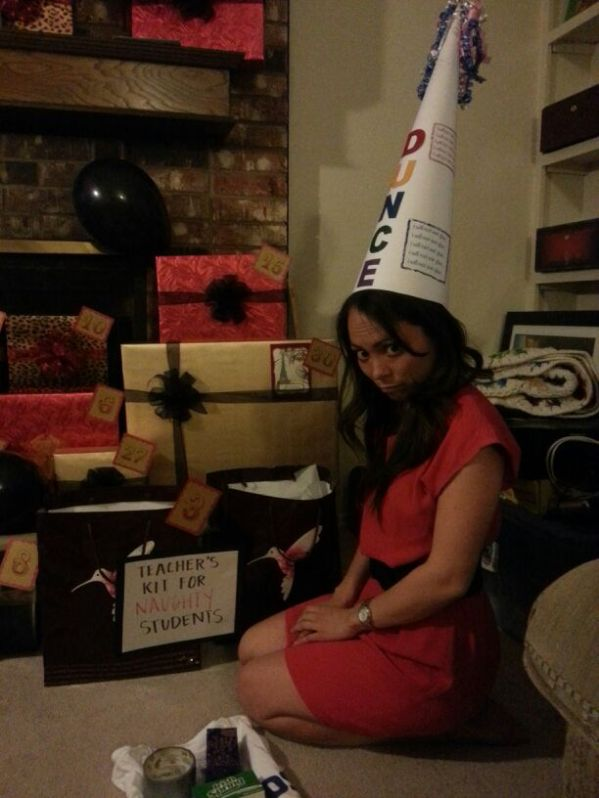 teacher's kit for naughty students. the dunce cap.