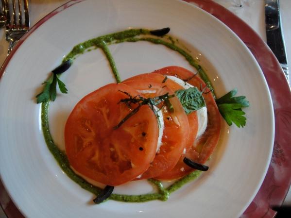 tomato mozzarella salad. obviously.